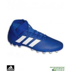 ADIDAS NEMEZIZ Niños 18.3 Azul Bota Futbol Hierba Artificial CG7164 junior personalizar