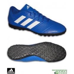 ADIDAS NEMEZIZ TANGO 18.4 Azul Zapatilla Futbol Turf Hierba Artificial DB2264 hombre adulto personalizar