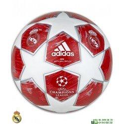 Minibalon Futbol REAL MADRID Rojo-Blanco ADIDAS Oficial CW4137 personalizar