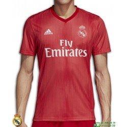 Camiseta REAL MADRID 2018-2019 Roja tercera Equipacion ADIDAS Oficial champions DP5445