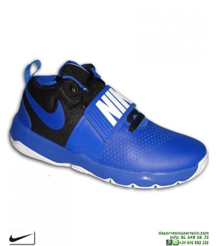 a38309d64 NIKE TEAM HUSTLE D 8 Bota Baloncesto Junior Azul 881941-405 bota zapatilla  basket