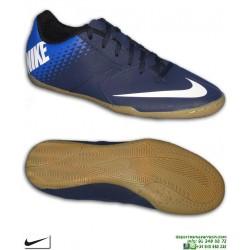 NIKE BOMBA IC Zapatilla Futbol Sala Azul Marino 826485-414
