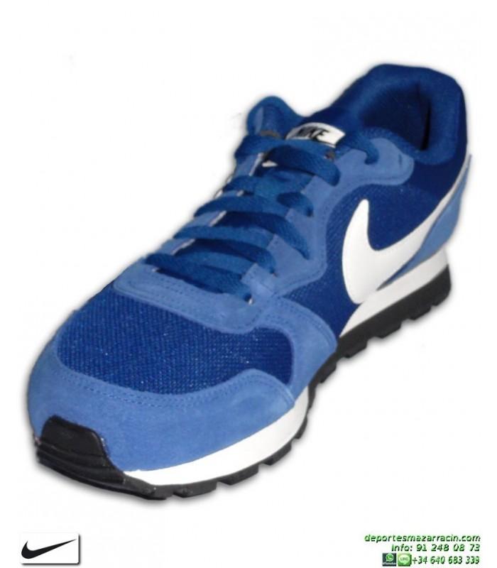 Deportiva Nike MD RUNNER 2 Azul Royal Hombre