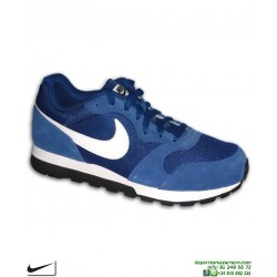 Deportiva Nike MD RUNNER 2 Azul Royal Hombre zapatilla clasica 749794-401 sneakers personalizable