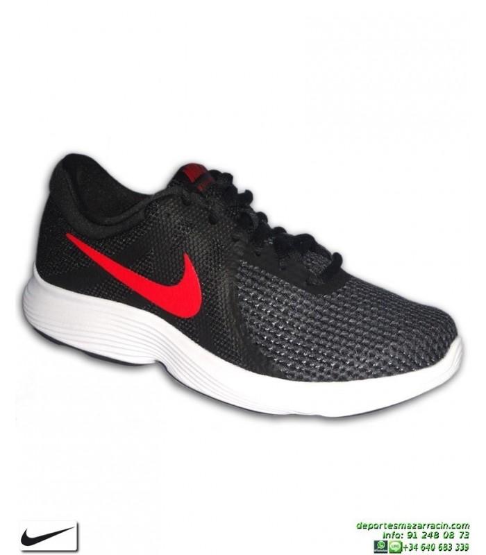Deporte Nike Rojo Zapatilla Revolution Negro Hombre Aj3490 4 061 b7gyI6Yfv
