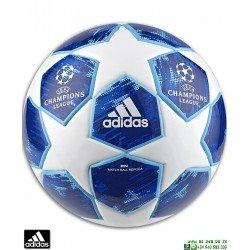 Minibalon Futbol CHAMPIONS LEAGUE 2018-19 ADIDAS FINALE blanco azul CW4130