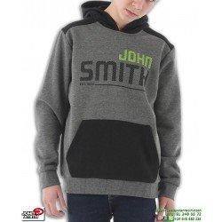 Sudadera Canguro Niño Algodon John Smith BASTET Gris junior