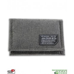 Monedero Cartera Billetero John Smith B18201-106 Gris Jaspeado