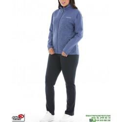 Chandal Señora Algodon John Smith LARPA mora mujer tracksuit femenino deporte conjunto chaqueta pantalon