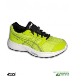 Zapatilla Running Junior ASICS STORMER GS Amarillo C811N-300 deporte niño niña correr