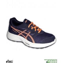 Zapatilla Running Junior ASICS STORMER GS Azul marino C811N-400 deporte niño niña chico chica
