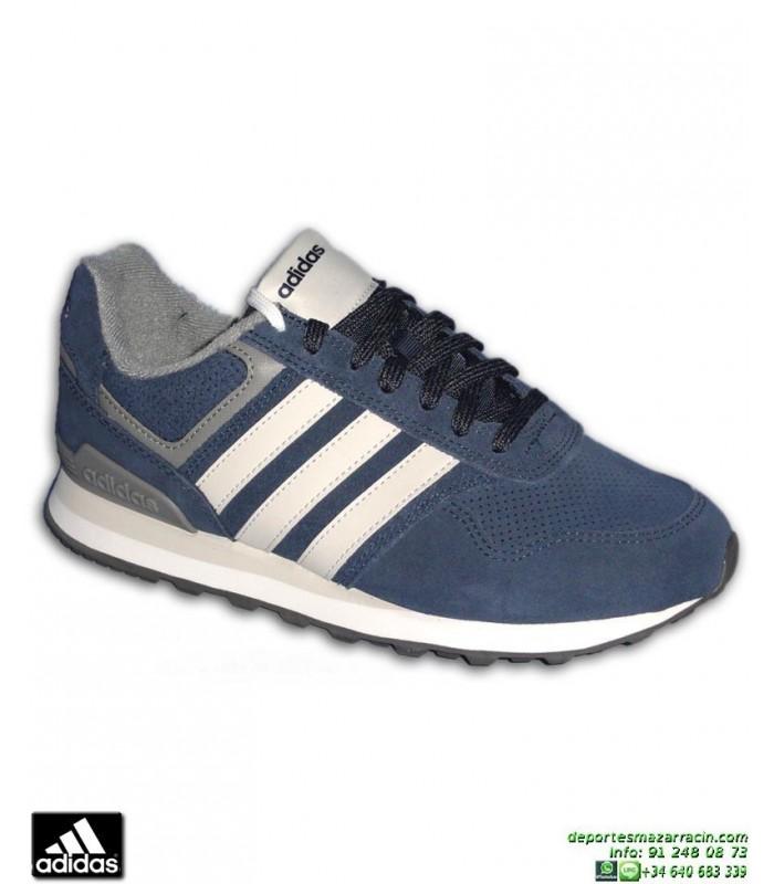 Deportiva Azul 10k Marino Bb9788 Hombre Adidas Zapatilla b6Yv7gyf