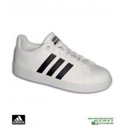 Deportiva Clasica ADIDAS CF ADVANTAGE Blanco-Negro AW4294 hombre zapatilla Sneakers