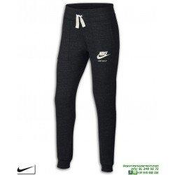 Pantalon Chandal NIKE Chica Sportswear Vintage Pants Gris Oscuro 890279-010 Junior