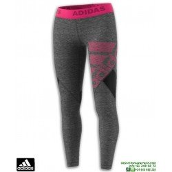 Malla Pantalon Mujer ADIDAS  ASK SPR TIGHT Gris-Rosa CZ1803