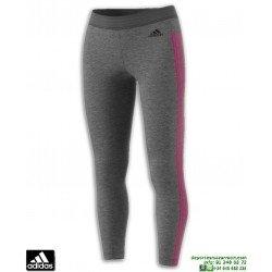 Malla Pantalon Mujer ADIDAS ESS 3S TIGHT Gris-Rosa CZ5762
