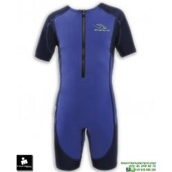 Bañador Neopreno Infantil Natacion Aqua Sphere STINGRAY SJ-213-4004 Azul