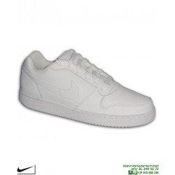 Zapatilla Blanca Completa Nike EBERNON LOW AIR FORCE 1 deportiva sneakers AQ1175-100