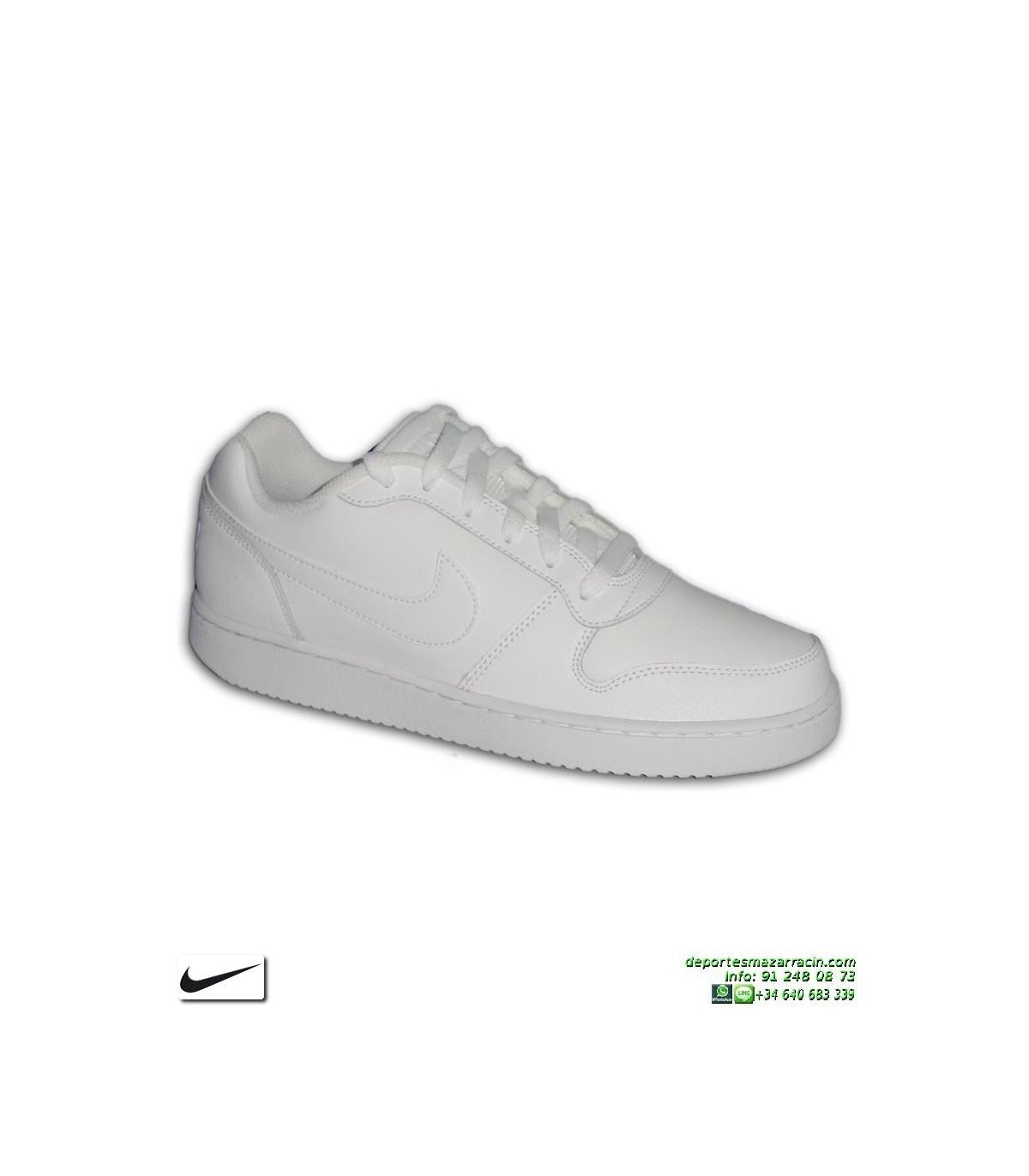 421deef6e Zapatilla Blanca Completa Nike EBERNON LOW AIR FORCE 1 deportiva ...