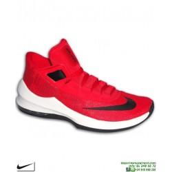 Bota Baloncesto NIKE AIR MAX INFURIATE 2 MID Hombre Rojo AA7066-600 basket personalizar