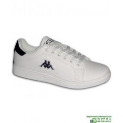 Zapatilla Clasica KAPPA LOGO MAOTA Blanco-Marino hombre 303HLU0-950 deportiva stan smith Sneakers