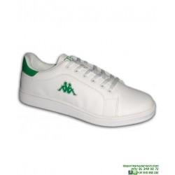 Zapatilla Clasica KAPPA LOGO MAOTA Blanco-verde hombre 303HLU0-961