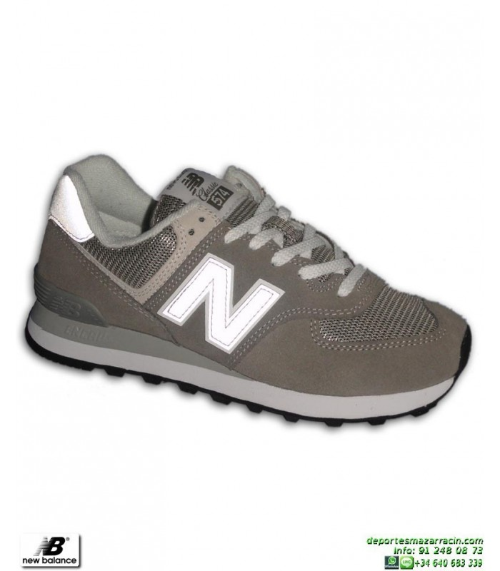 new balance hombre 574 gris