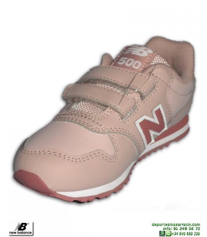 zapatillas new balance niña velcro rosa