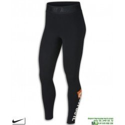 Malla Pantalon Mujer NIKE LEGGING JUST DO IT Negro-Blanco AQ0245-010