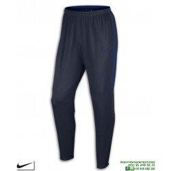 Pantalón Chandal Ajustado NIKE Dry Academy Pant Marino-Royal Hombre 839363-454 poliester acetato pitillo