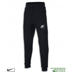 Pantalón Chandal Algodon NIKE TRAINING PANTS Chico negro junior 619089-010