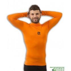 Camiseta Termica Naranja ROX Gold Hombre Manga larga 38207.007 senior adulto futbol atletismo tenis