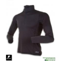 Cortavientos Soft-shell JOLUVI UNKAS Running Negro 230049-01 correr deporte