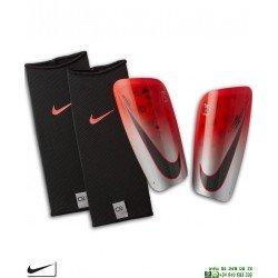 Espinillera CR7 Nike MERCURIAL LITE Rojo-Gris SP2158-620 cristiano ronaldo FUTBOL