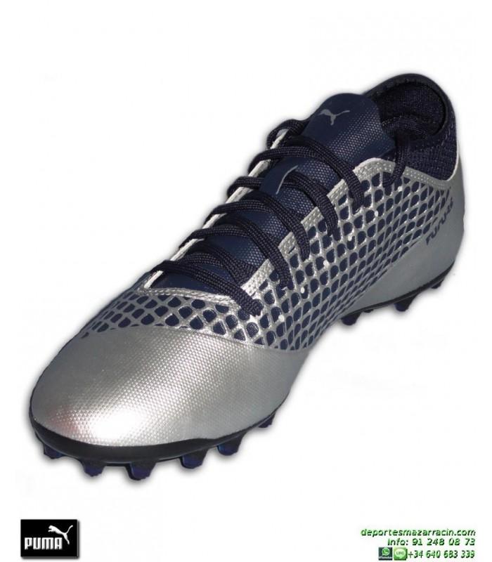 4d565f1aa PUMA FUTURE 2.4 Gris Bota Futbol Tacos MG Griezmann luis suarez 104840-04  hierba artifcial
