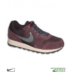 Zapatilla Nike MD RUNNER 2 SE Burdeos Deportiva clasica AO5377-600 moda calle sneakers