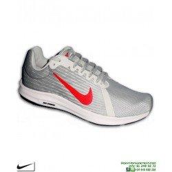 Zapatilla Deporte para Niños Nike DOWNSHIFTER 8 Gris-Rojo 922853-010 deportiva junior running