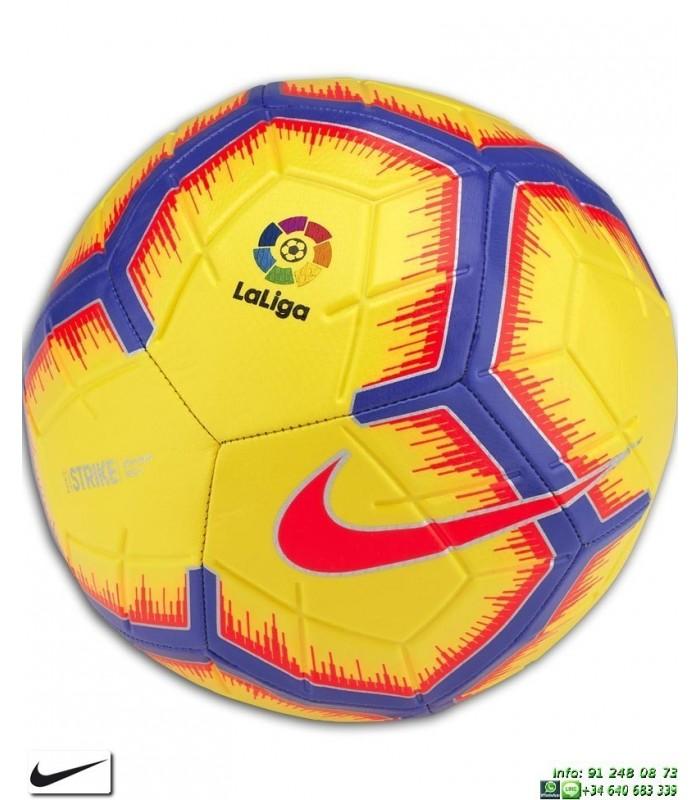 4fd0db6f99388 Balon Futbol de la Liga 2018-2019 AMARILLO Nike STRIKE LFP SC3313-710
