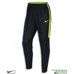 Pantalón Chandal Ajustado NIKE Dry Academy Pant negro-amarillo fluor Hombre 839363-018