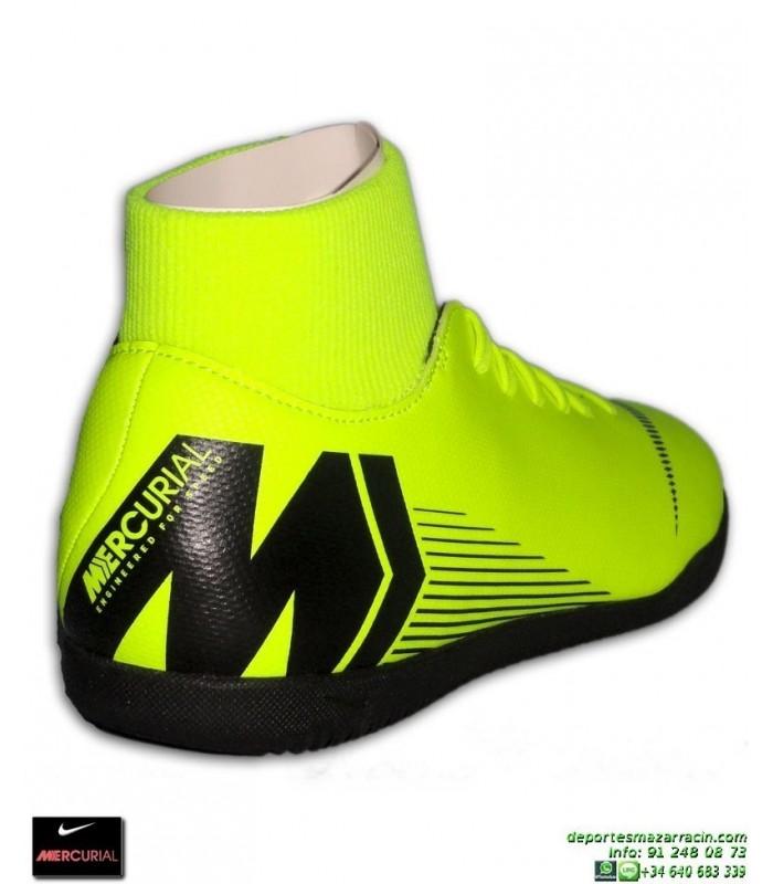 Nike MERCURIAL SUPERFLY 6 CLUB AMARILLA bota Futbol Sala