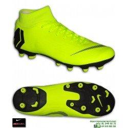Nike MERCURIAL SUPERFLY 6 ACADEMY Amarilla Bota Futbol Calcetin FG/MG