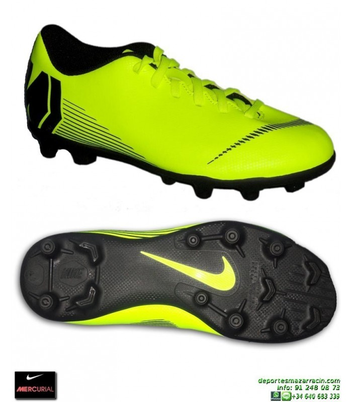Nike Club Bota Mercurial 12 Amarilla Vapor Tacos Niño Futbol rqxrBwZtp b43577a83870e