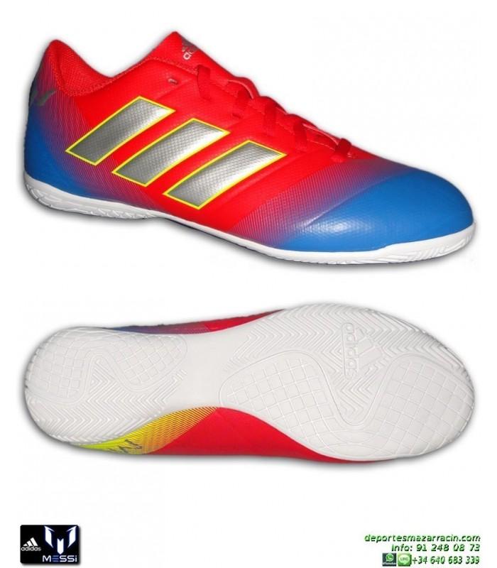 ADIDAS NEMEZIZ MESSI Futbol Sala Tango 18.4 Rojo-Azul D97264 hombre chico  Zapatilla INDOOR 5ecebb4bb8fa6
