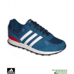 Zapatilla ADIDAS 10K Azul Marino-Rojo Hombre F34458 sneakers moda clasica
