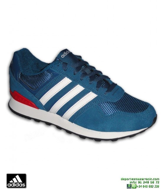 Adidas 10K Cw Hombre Zapatillas Casual Blanco