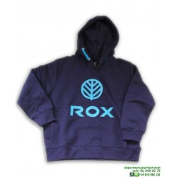 Sudadera Algodon Canguro Azul Marino-Royal ROX PERENNE