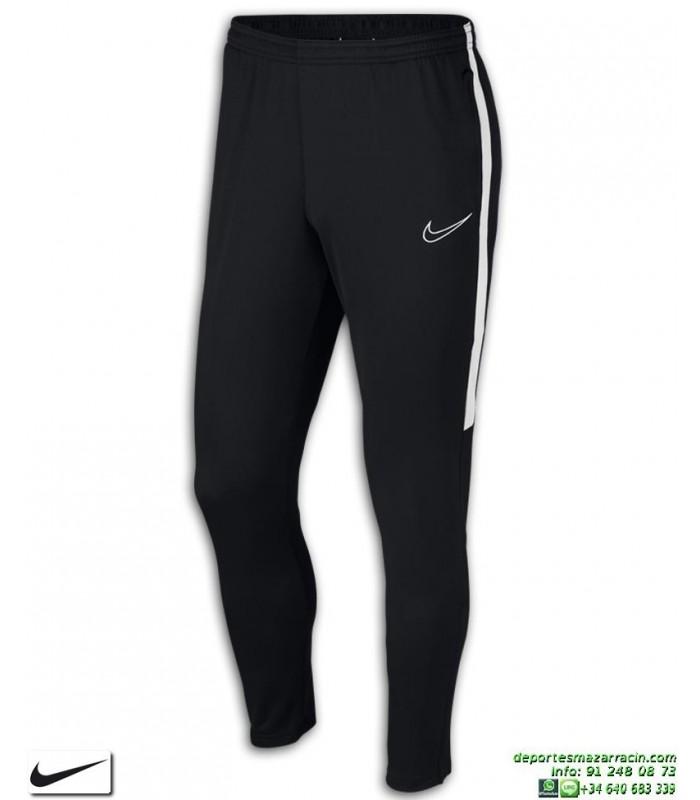 Pantalón Chandal Ajustado NIKE Academy Pants Negro-Blanco