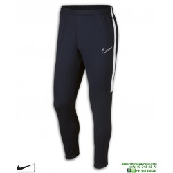 Pantalón Chandal Ajustado NIKE Academy Pants Azul Marino-Blanco Hombre AJ9729-451