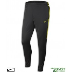 Pantalón Chandal Ajustado NIKE Academy Pants Gris-Amarillo Hombre AJ9729-061