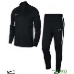 Chandal NIKE Dri-FIT Academy Negro-Blanco Hombre chaqueta y pantalon tracksuit AO0053-010
